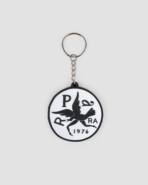Parra Parra Keychain Upside Down Bird White