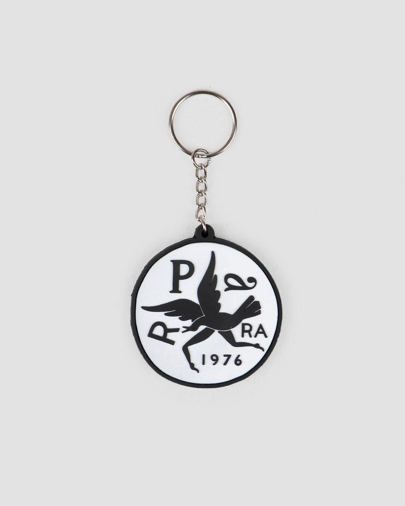 Parra Parra Keychain Upside Down Bird White