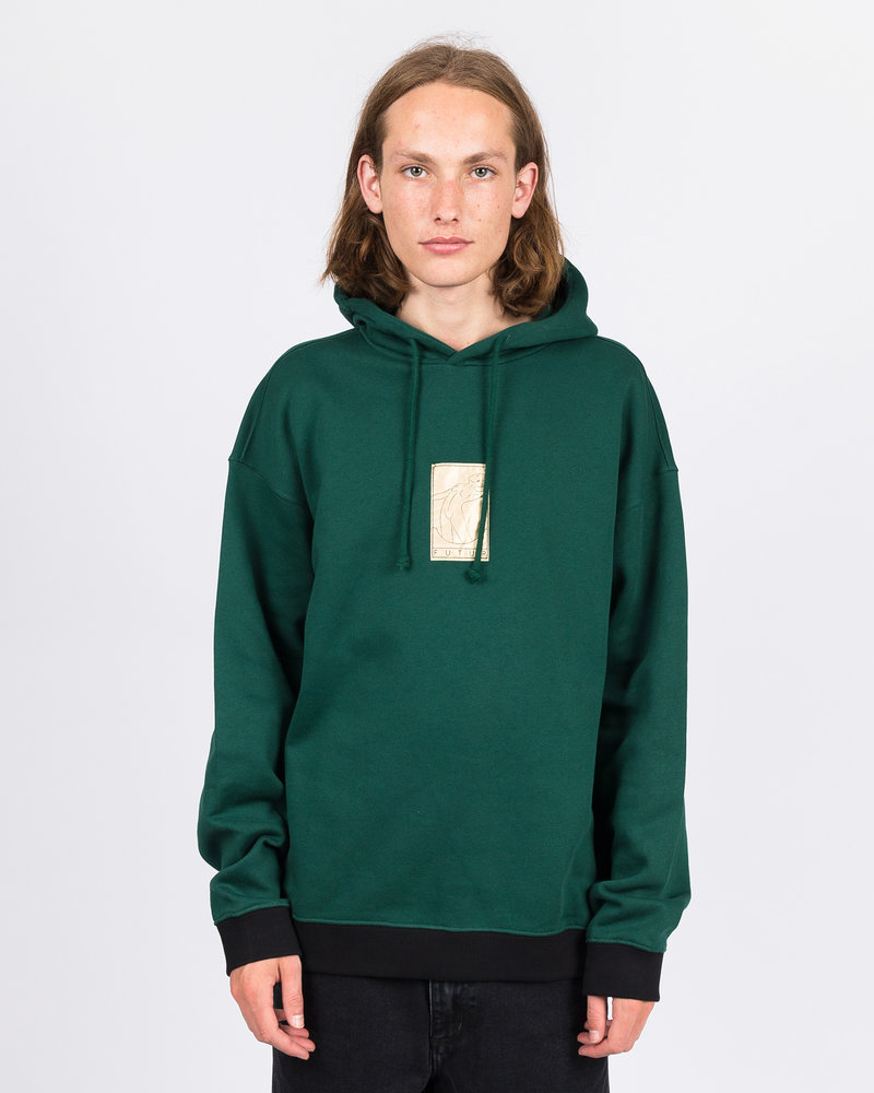 Futur Futur 01 Gold G Fit Hoodie Forest Green