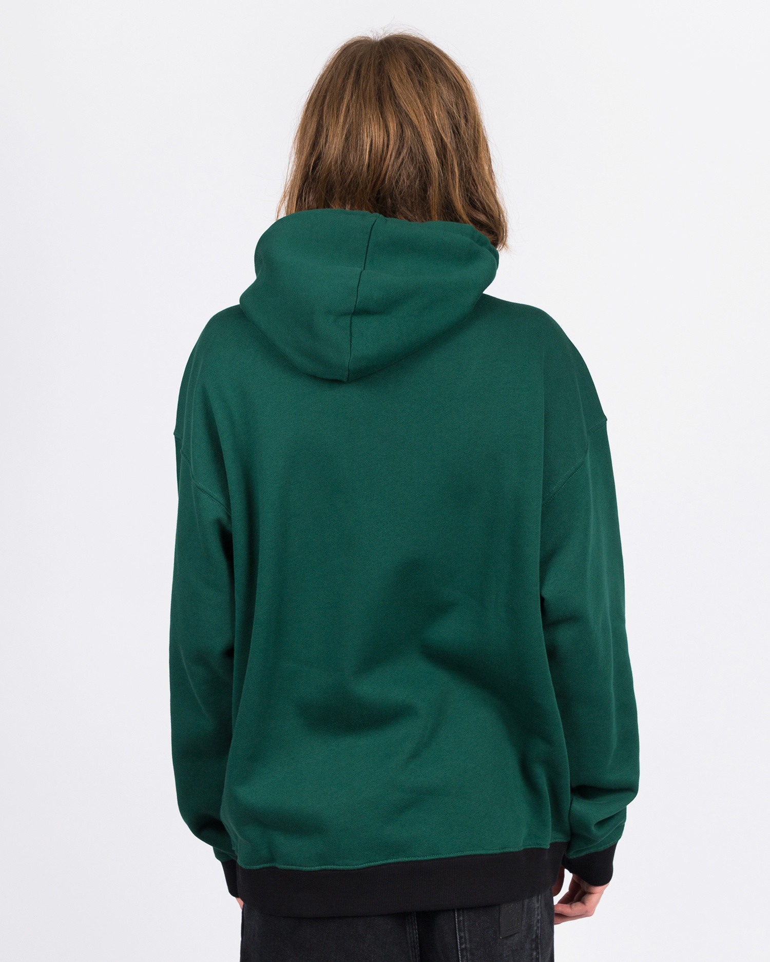Futur 01 Gold G Fit Hoodie Forest Green