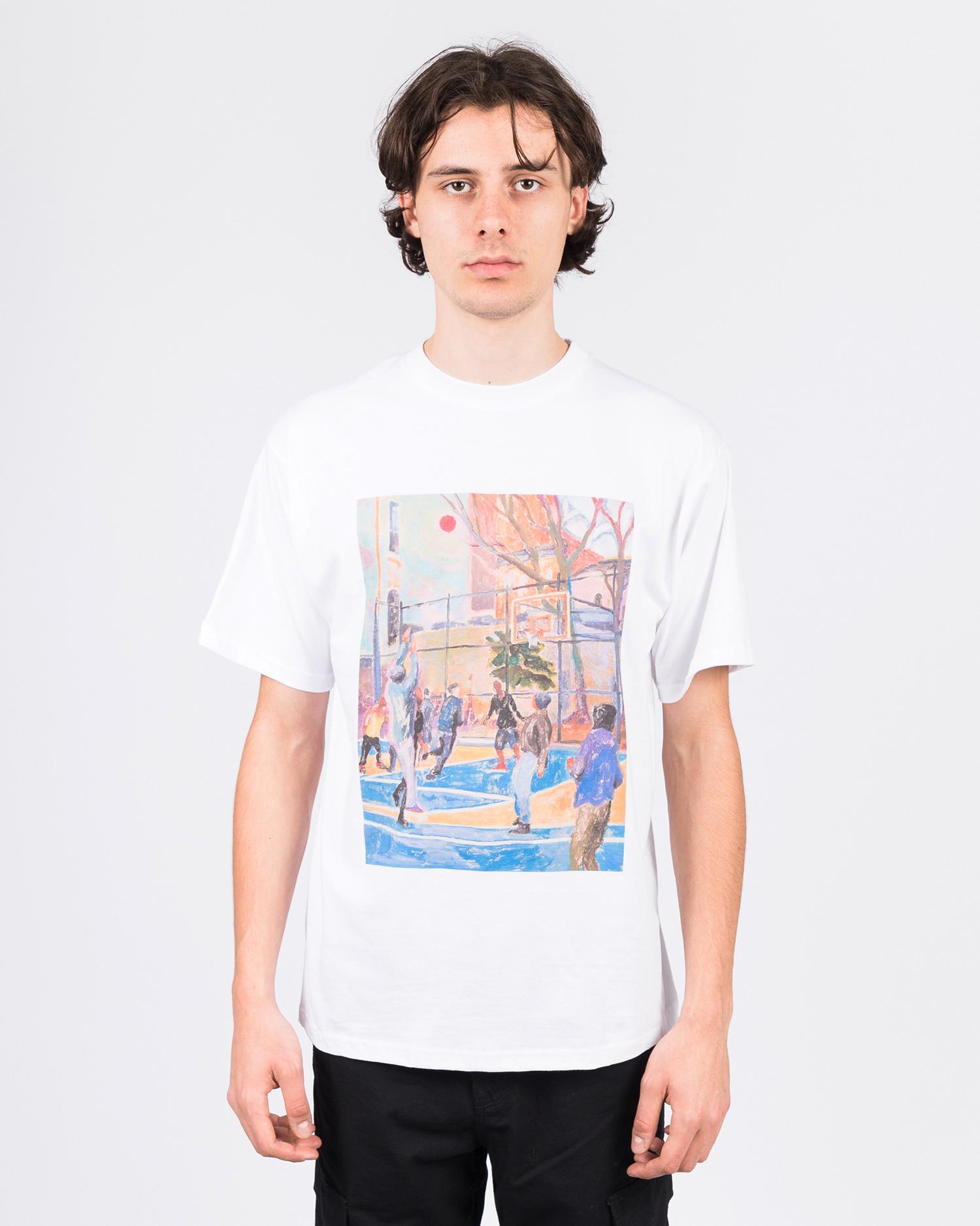 Free Skate Mag Brian Lotti Artwork T-Shirt White