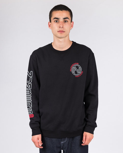 Numbers Edition Numbers Edition Crewneck N.E. Fleece Crew Black