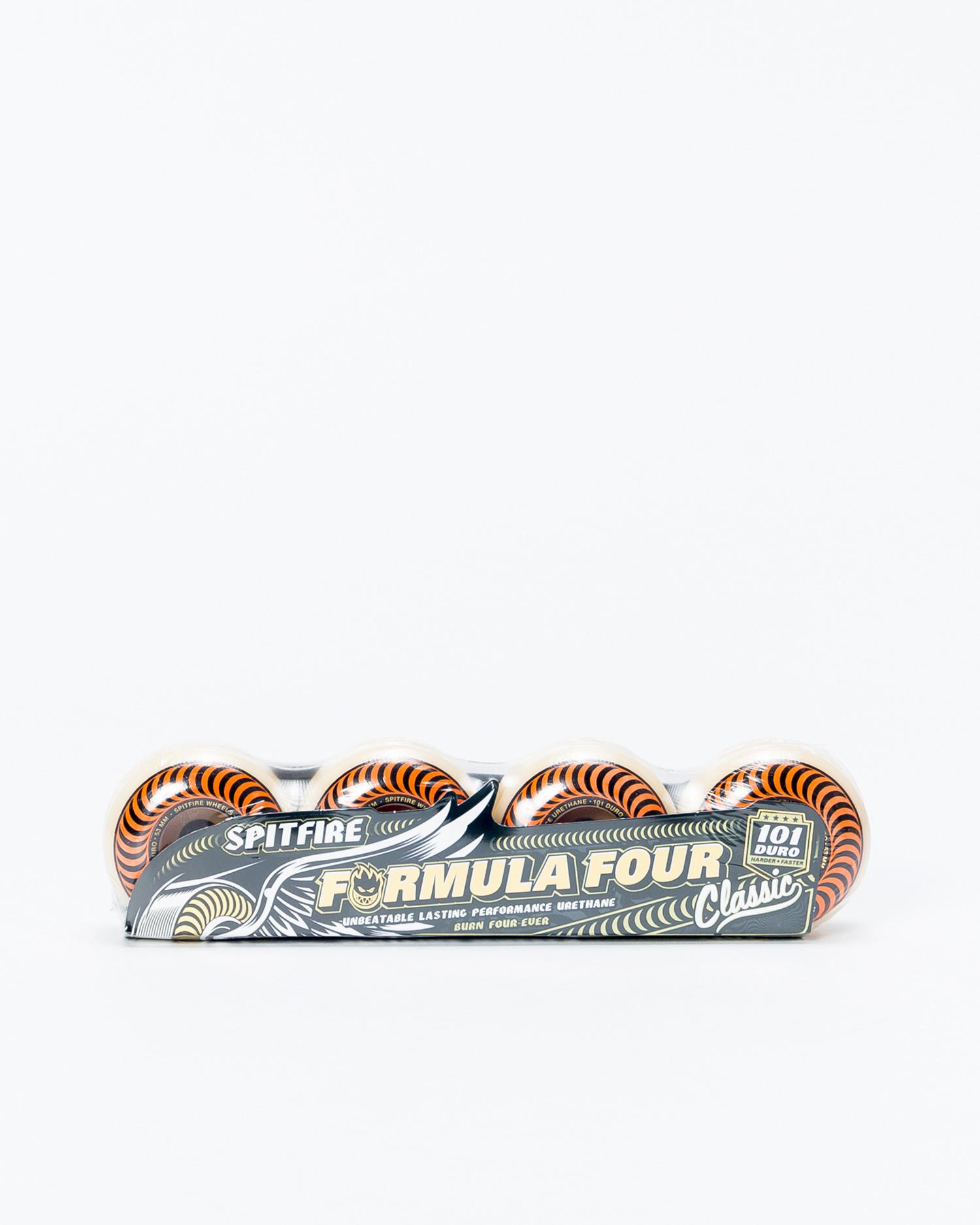 Spitfire Wheels F4  Orange 53mm