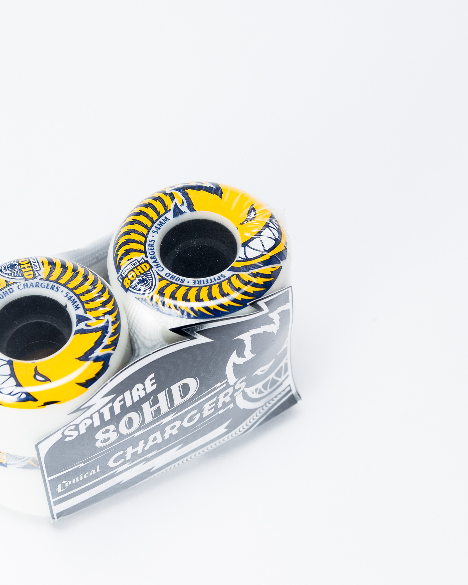 Spitfire Charger Whire yellow 54mm Wheels