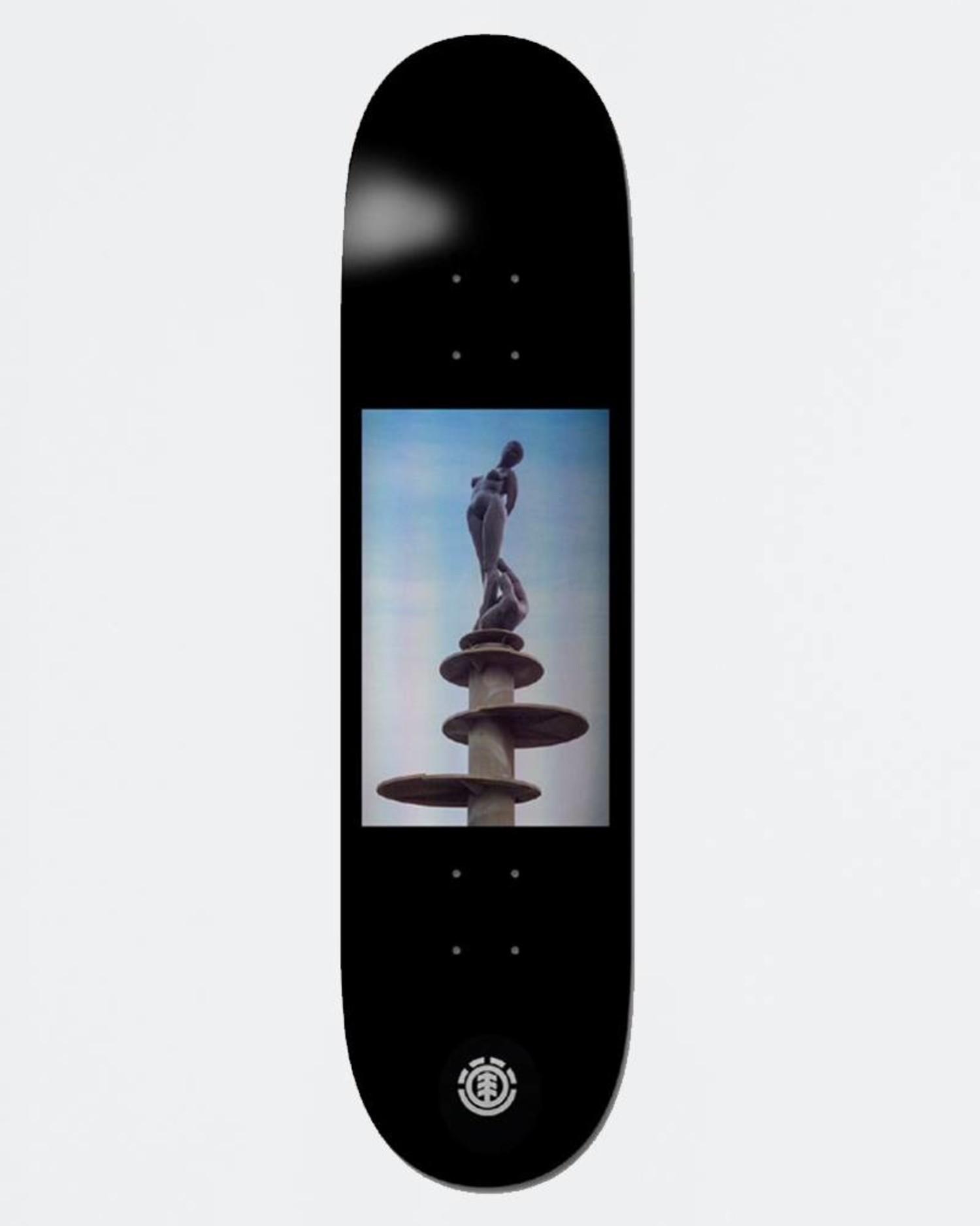 Element x Jacky  Jacky Statue Scratch Deck 8,5