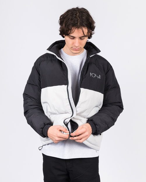 Polar Polar Combo Puffer Black/Ice Grey