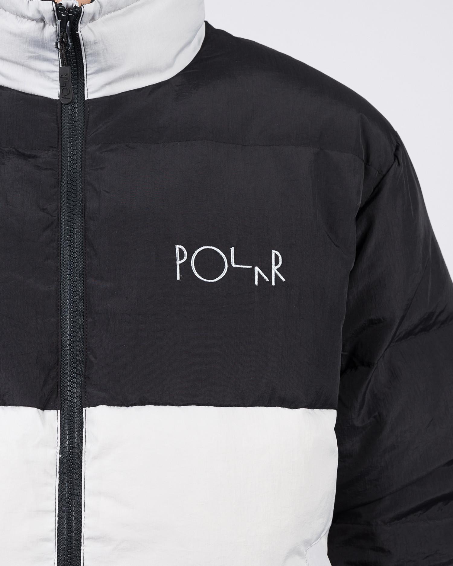 Polar Combo Puffer Black/Ice Grey