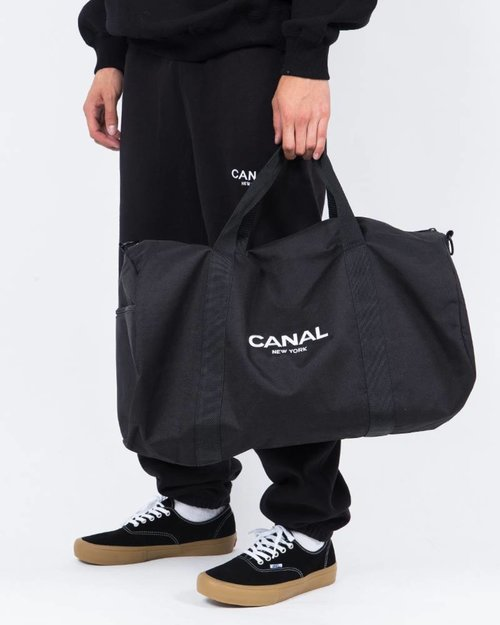 Canal Canal Logo Duffel Bag Black