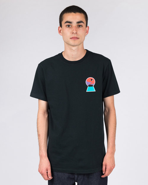 Numbers Edition Numbers Edition ITO Downward Spiral Tee Black