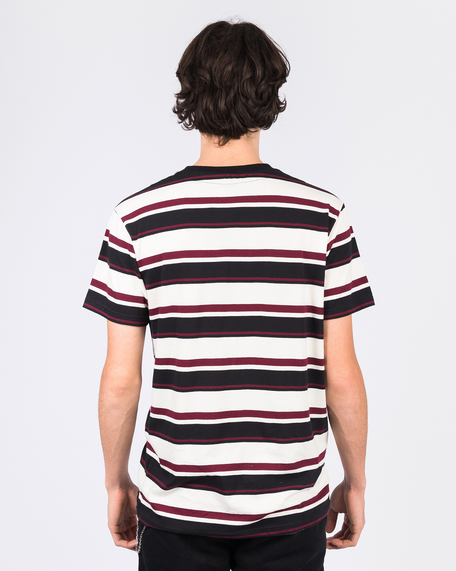 Former Special Stripe Tee Red/Black/Creme