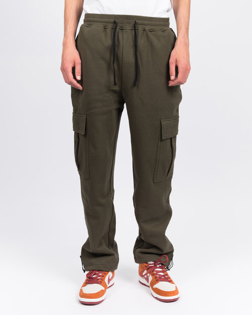 Dime Dime Cargo Sweat Pant Military Green
