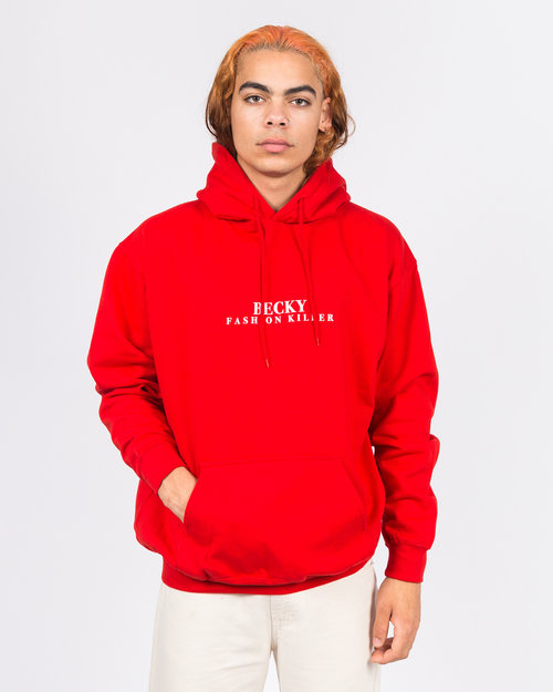 Becky Becky Fashion Killer Hoodie Red