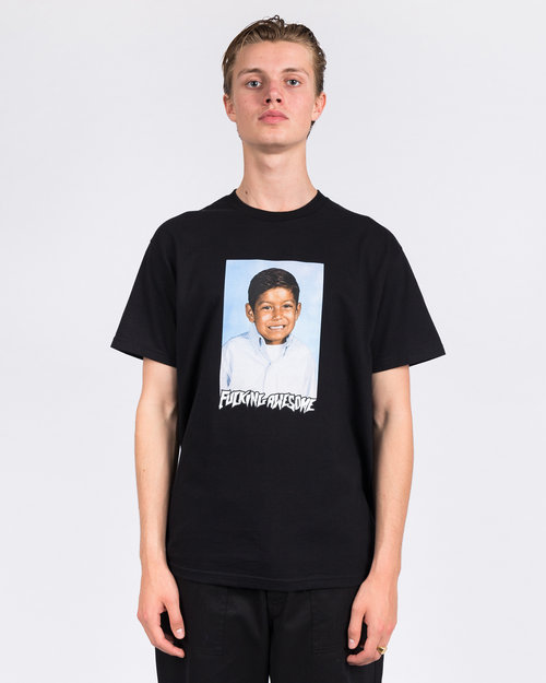 Fucking Awesome Fucking Awesome Louie Lopez Class Photo T-Shirt Black