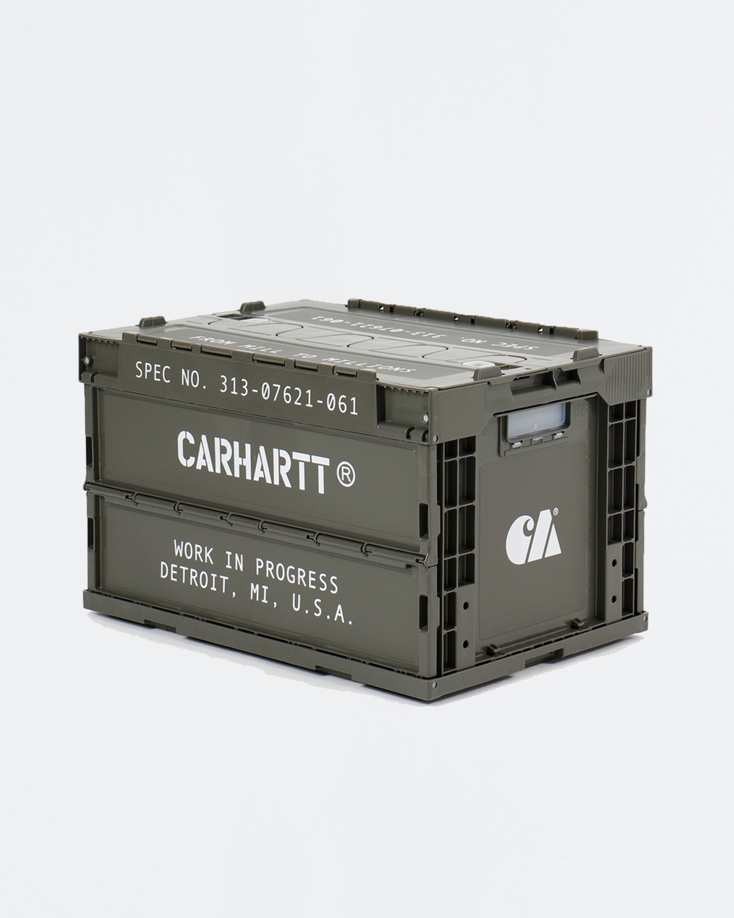 Carhartt Foldable Storage Container Plastic Cypress