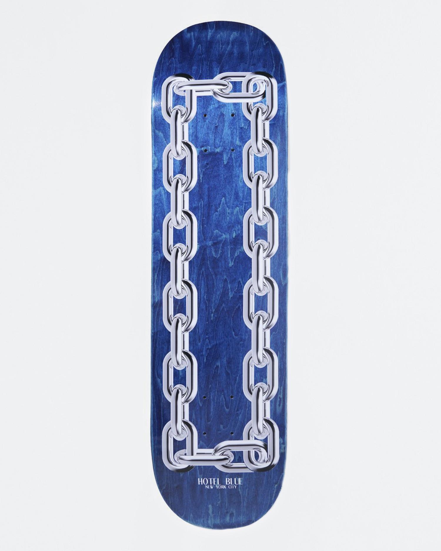Hotel Blue Chains Deck 8.25''