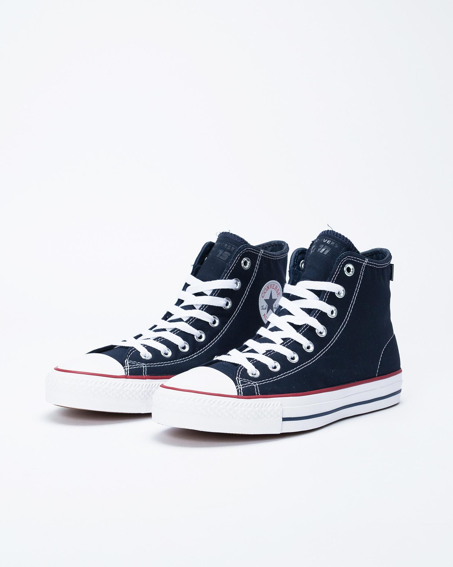 Converse Ctas Hi Pro Obsidian/White/Enamel Red Dark Navy