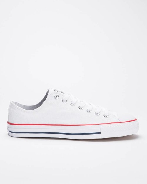 Converse Converse Ctas Pro Ox White/Red/Blue