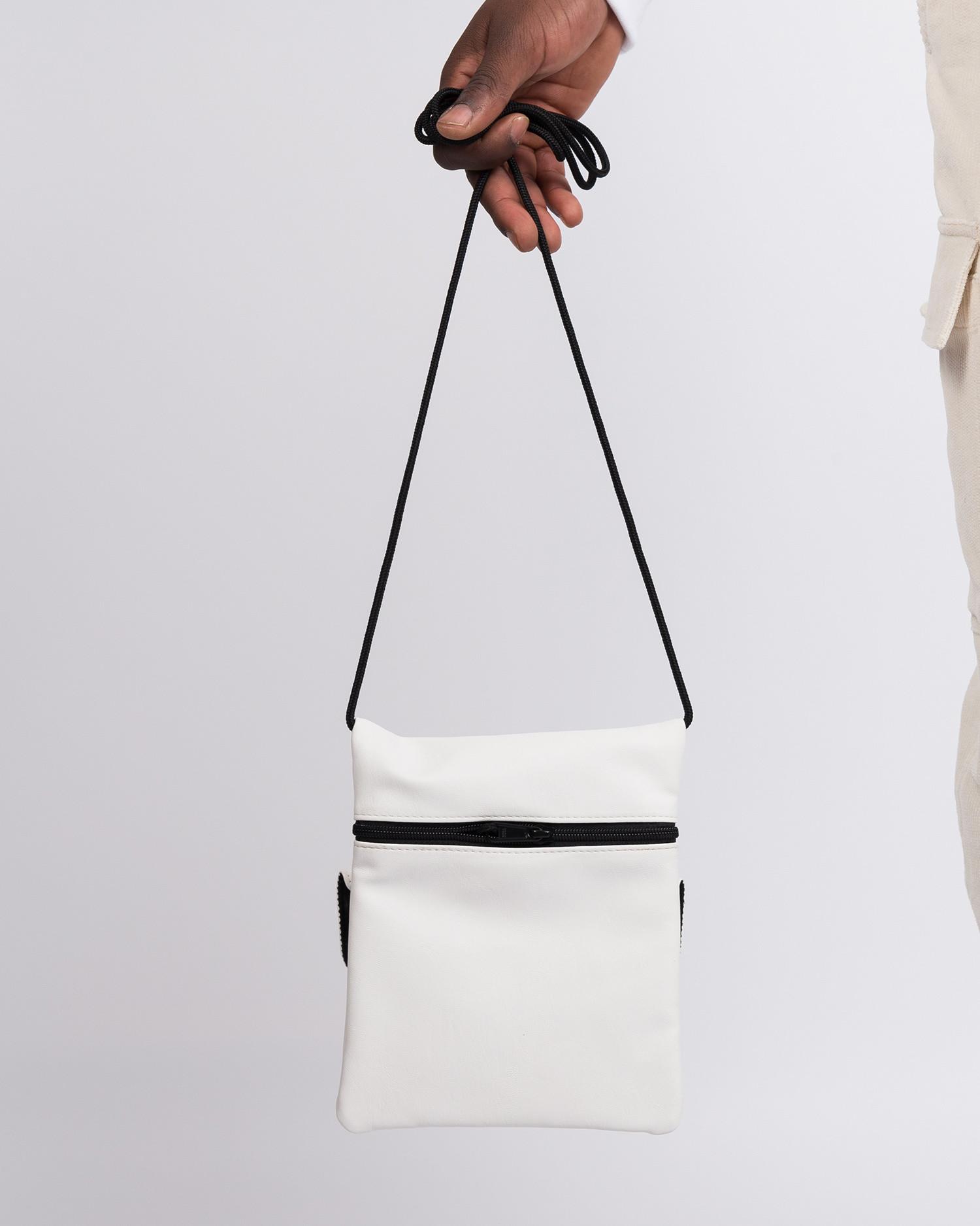Have A Good Time Frame Leather Shoulder Bag White