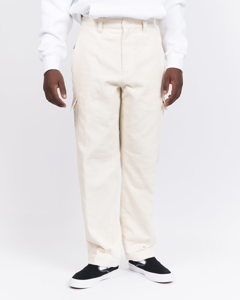 HAVE A GOOD TIME Have A Good Time 6 Pocket Corduroy Pants White