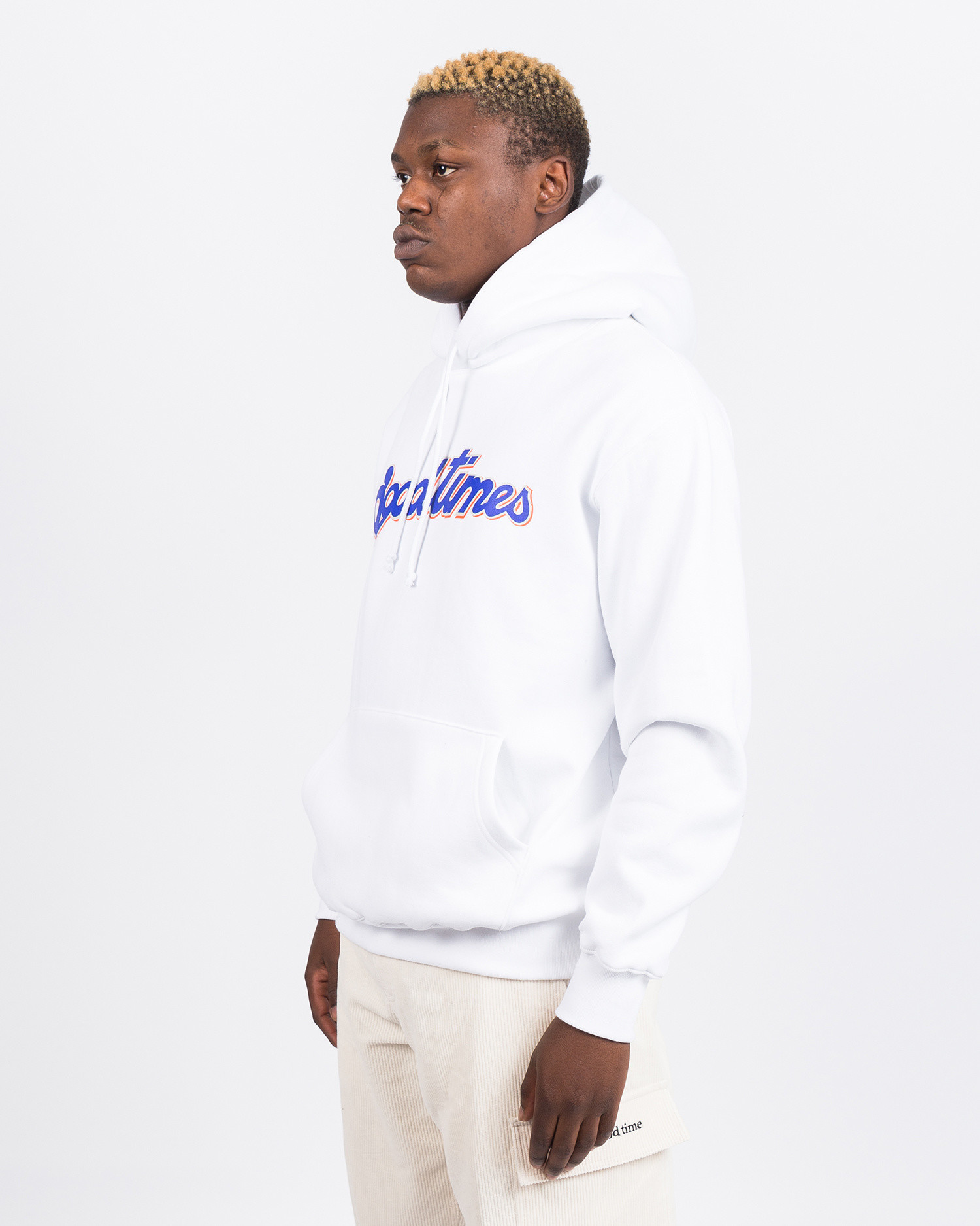 Have A Good Time Good Times Hoodie White