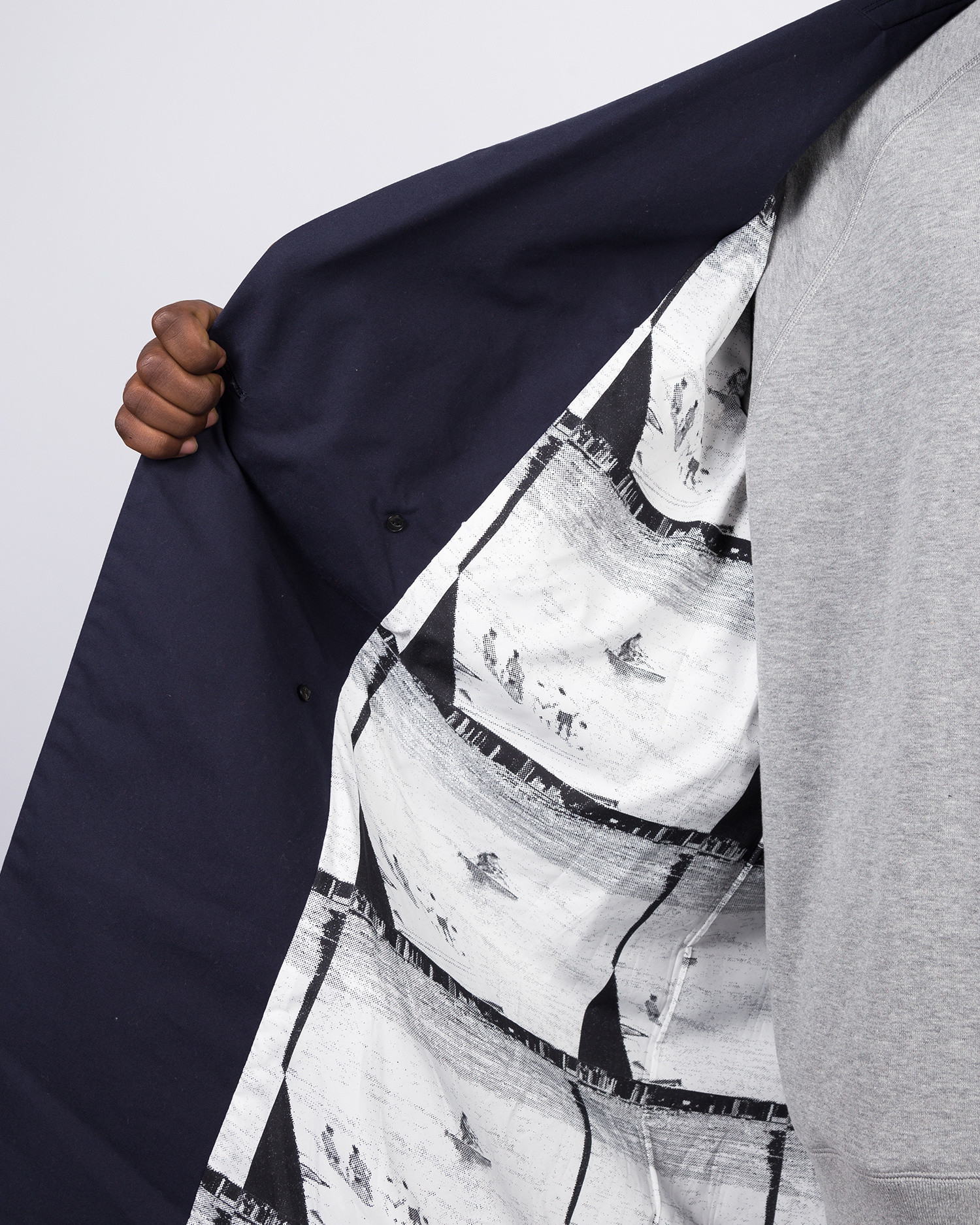 Futur X Graphpaper FG Trench Navy