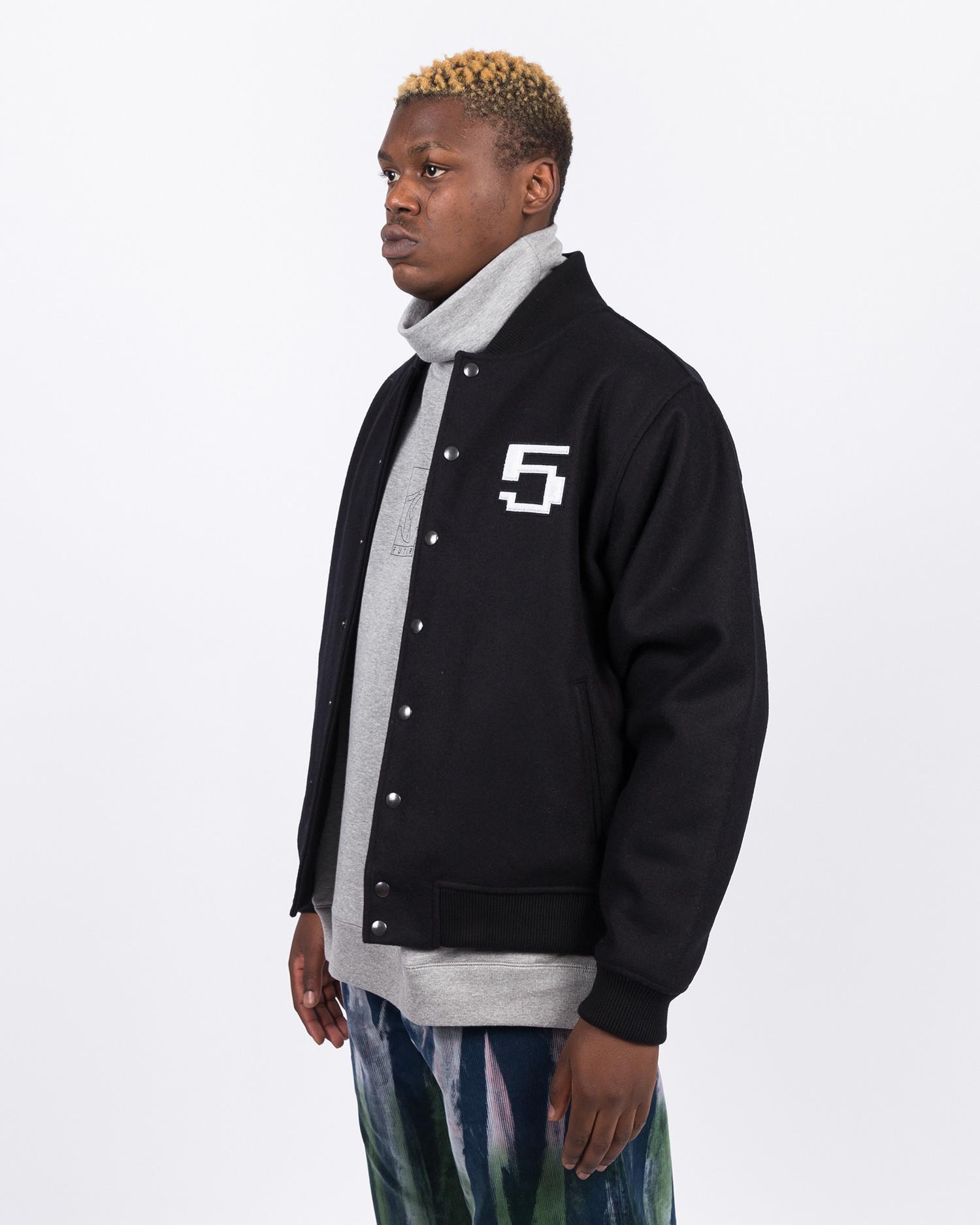 Futur Dr Varsity Jacket Black
