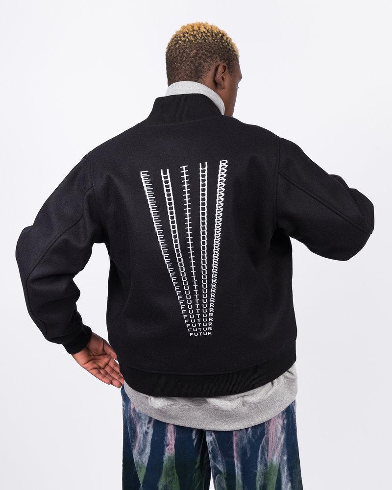 Futur Futur Dr Varsity Jacket Black