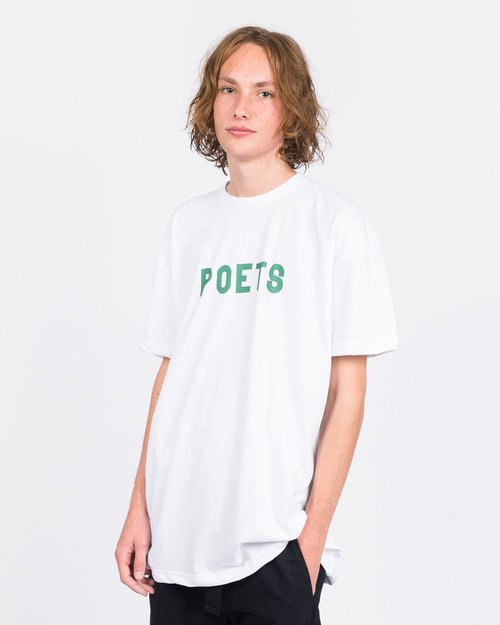 Poets Poets Herren T-shirt White