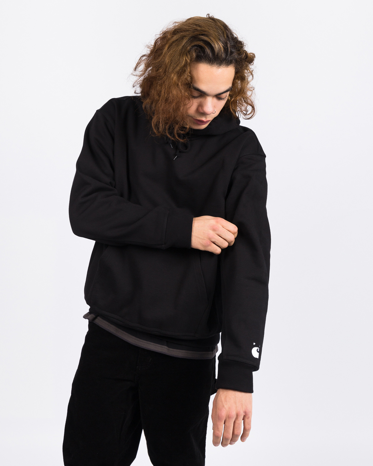 Carhartt x Pop Trading Co HD Sweater Black