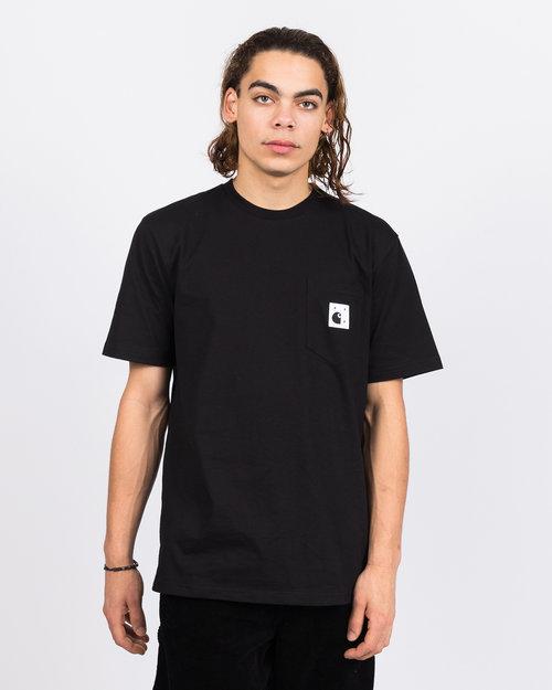 Pop Trading Co Carhartt x Pop Trading Co Pocket T-Shirt Black