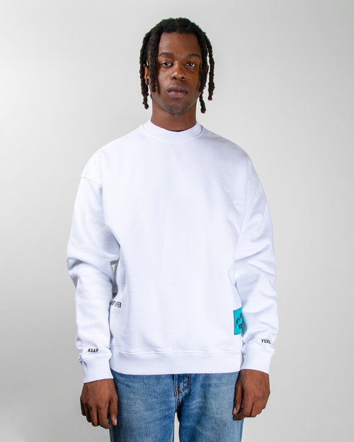 PlatformX ASAP Ferg Hamilton Heights Crewneck White