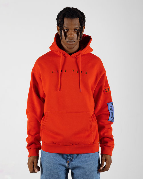 PlatformX ASAP Ferg ASAP Mob Worldwide Hoodie Red