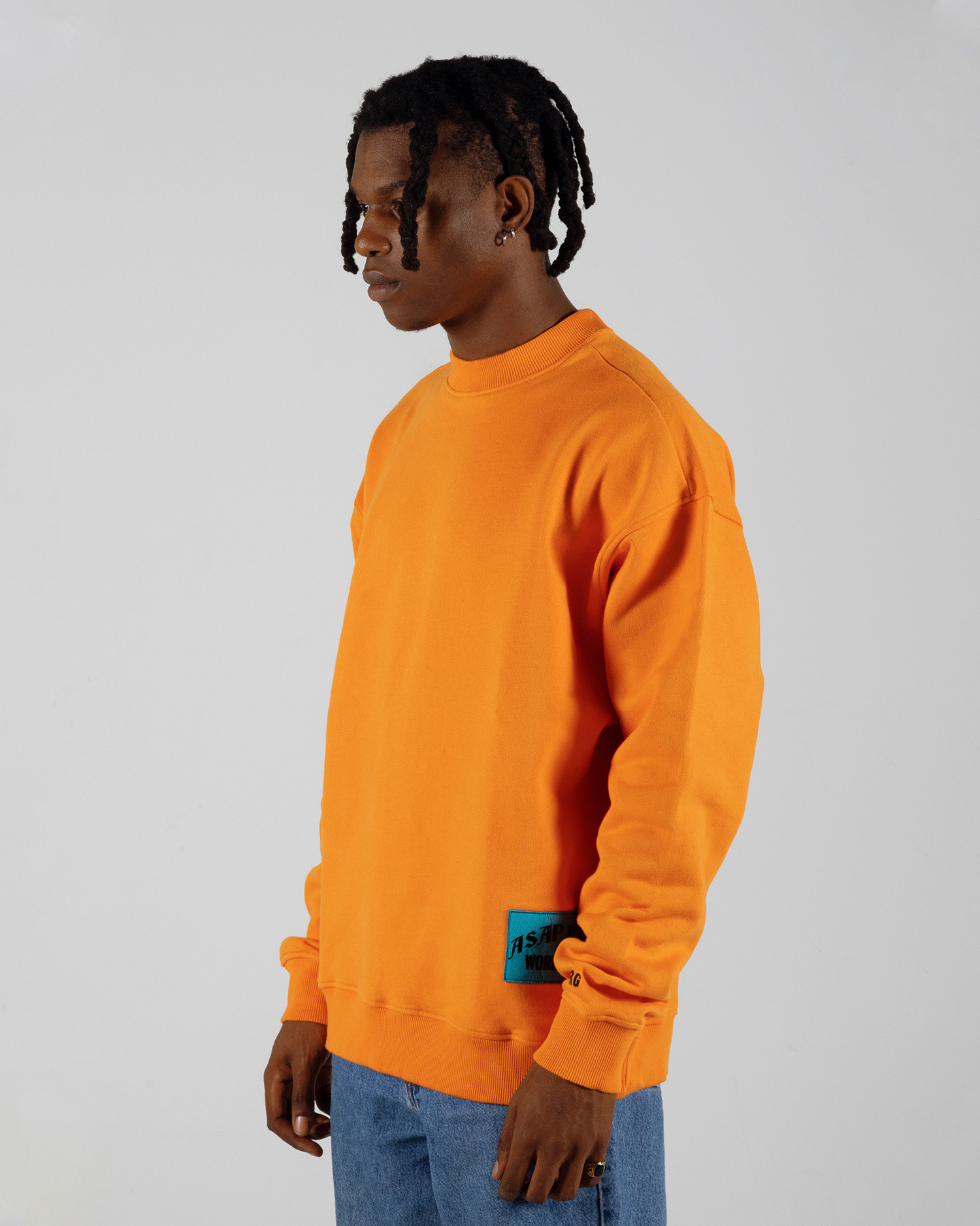 ASAP Ferg Hamilton Heights Crewneck Orange