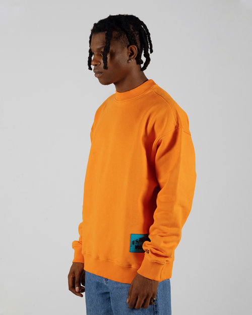 PlatformX ASAP Ferg Hamilton Heights Crewneck Orange
