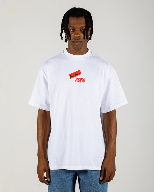 PlatformX ASAP Ferg Written T-Shirt White