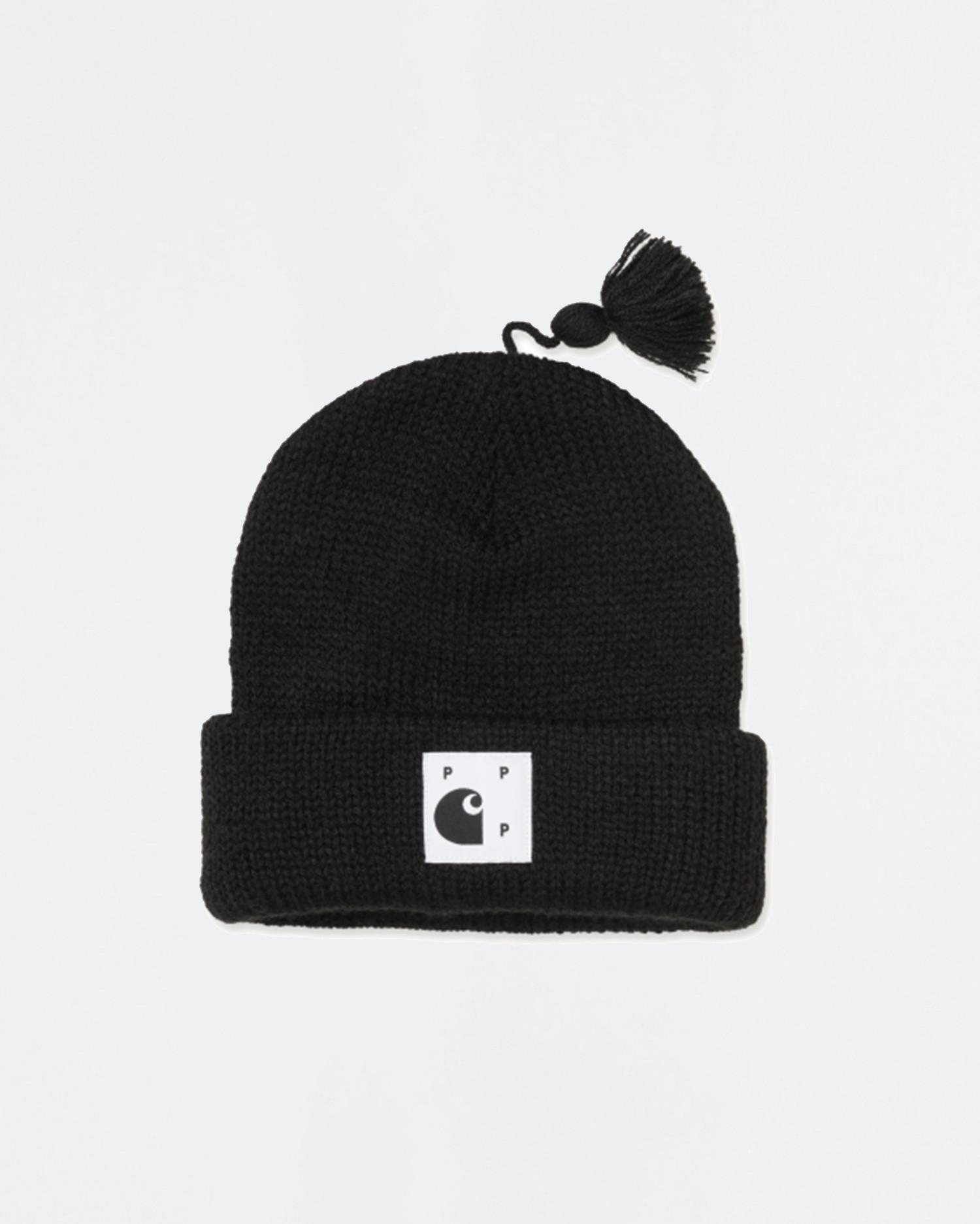Carhartt x Pop Trading Co Watch Hat Black