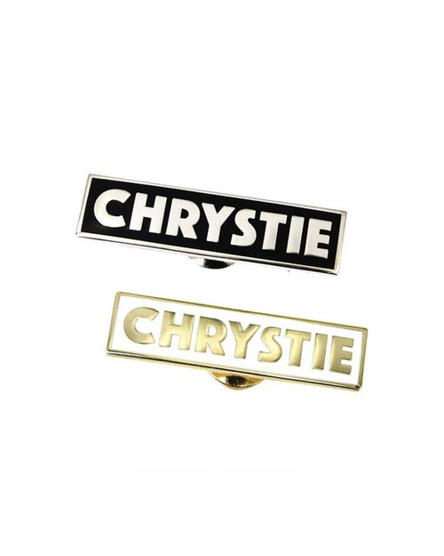 Chrystie Chrystie Og Logo Pin Set