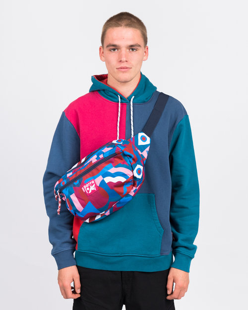 Parra Parra Grab the flag Waist bag Multicolor
