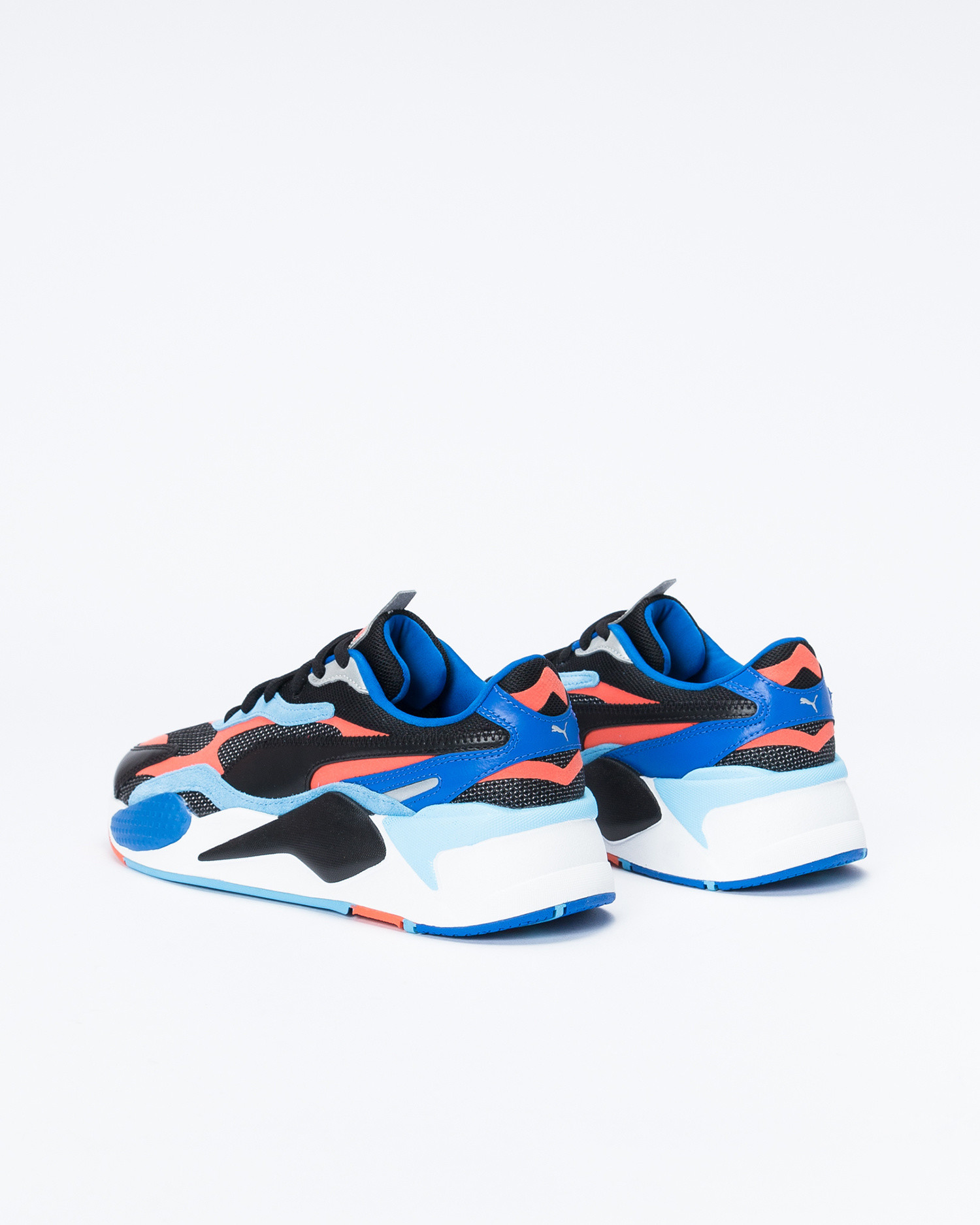 Puma RS-X ³ Level Up Black/Hot Coral