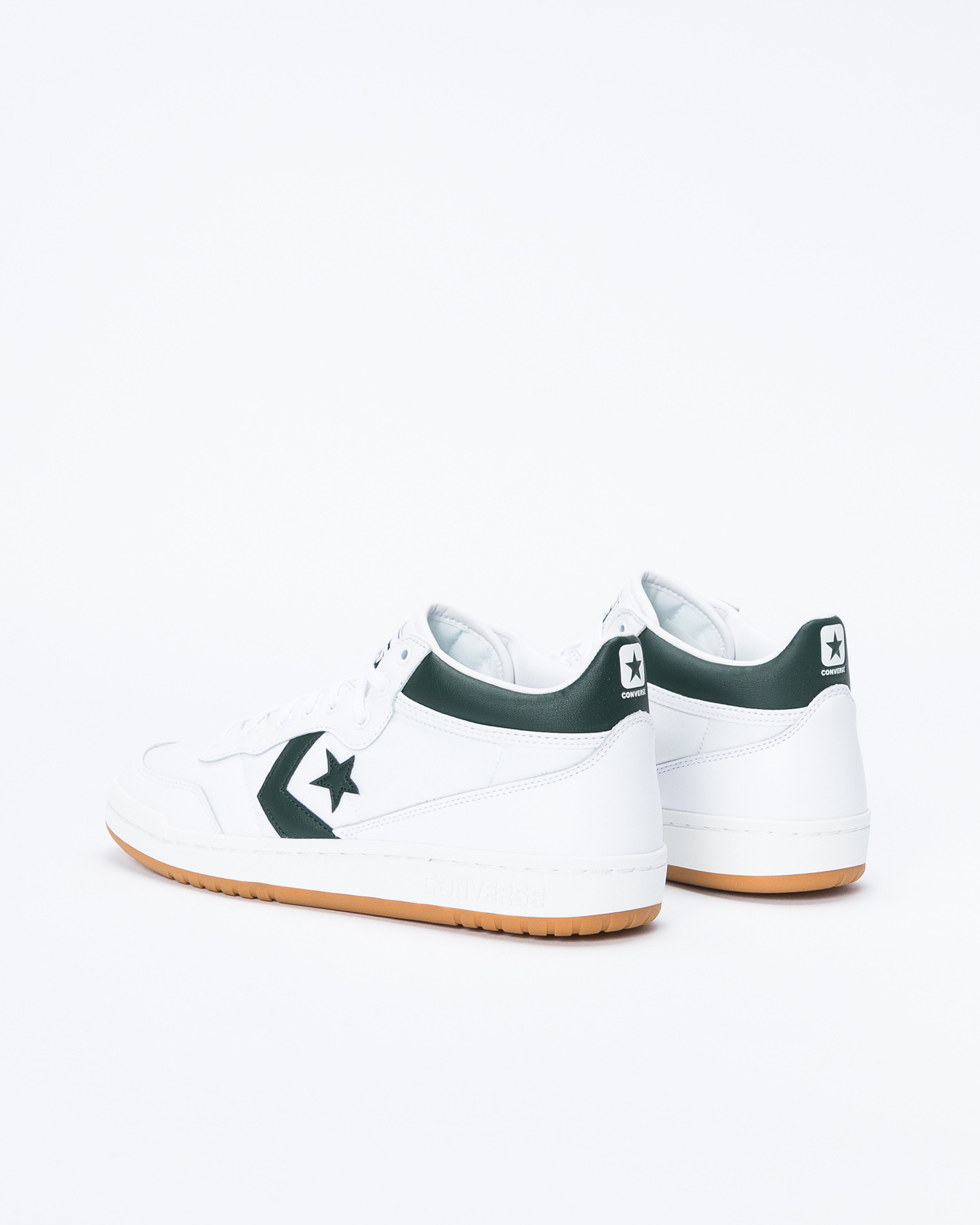 Converse Fastbreak Pro Mid White/Deep Emerald/Gum