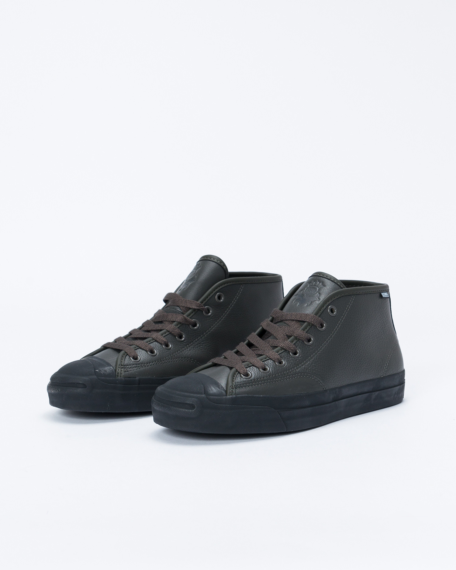 Converse Jack Purcell Pro Leather Mid Beluga/Black/Black