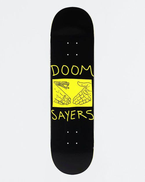 Doom Sayers Doom Sayers Deck Snake Shake Black 8.28