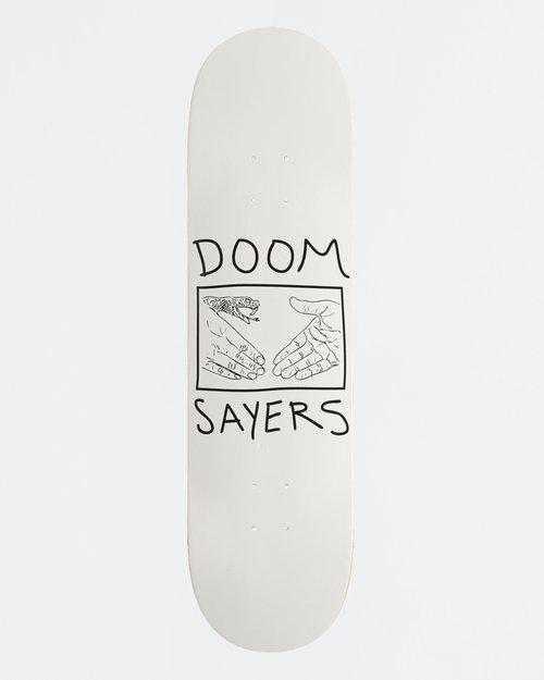 Doom Sayers Doom Sayers Deck Snake Shake White 8.38