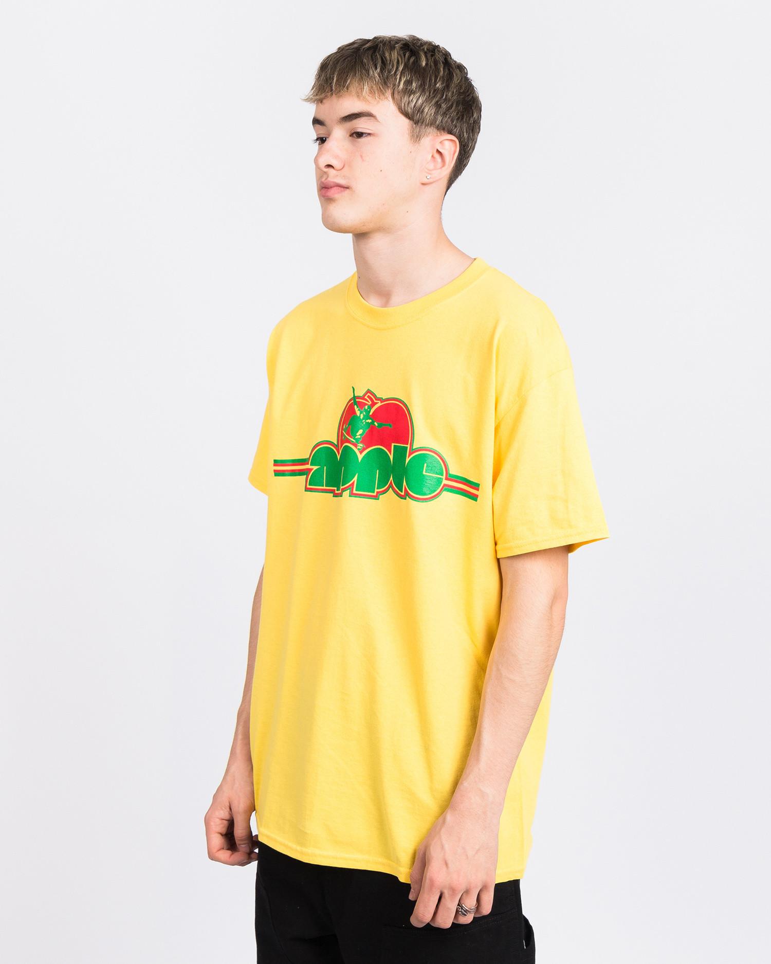 Dear Skating Ohio Skatepark T-Shirts Yellow