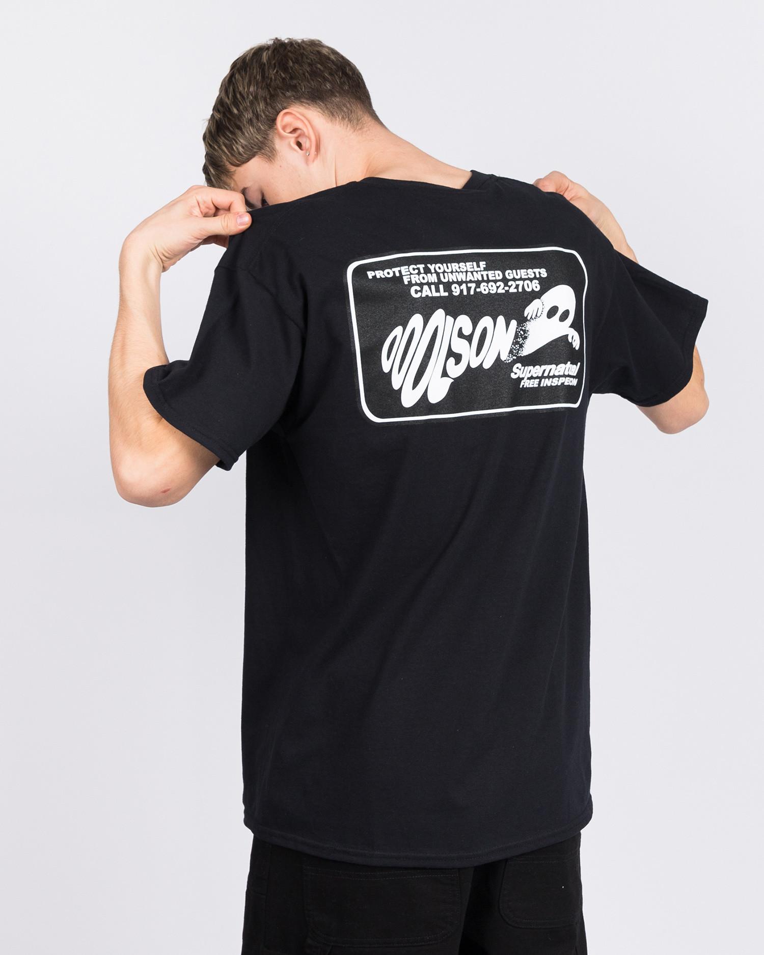 Call Me 917 Ooolson T-Shirt Black