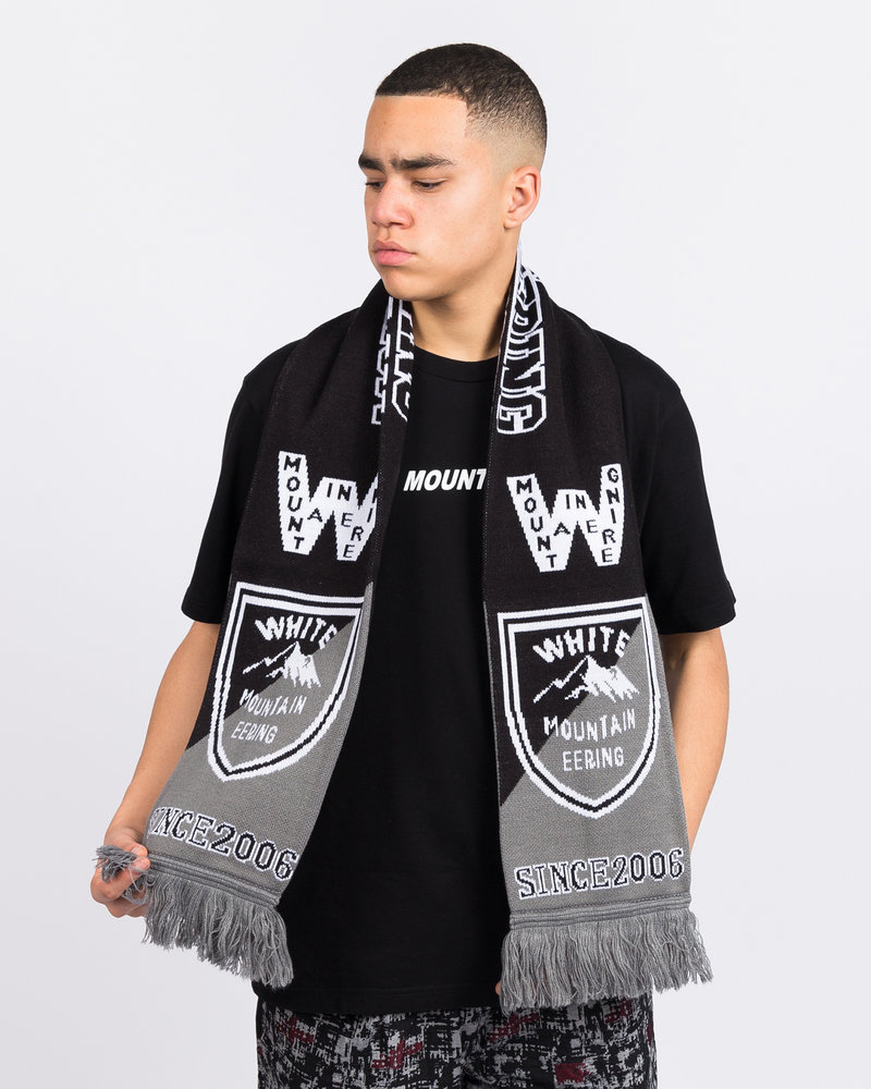 White Mountaineering White Mountaineering Football Muffler Black