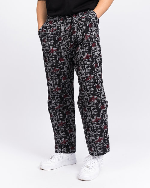 White Mountaineering White Mountaineering Mosaic Jacquard 2 Tucked Wide Corduroy Pants