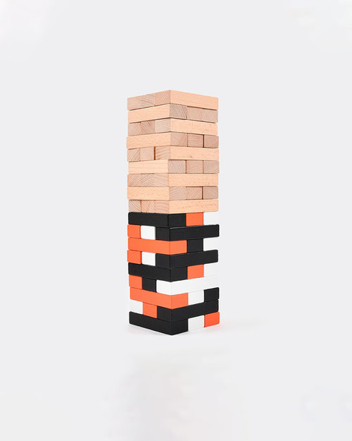 Carhartt Carhartt Stackling Blocks Game Wood Multicolor
