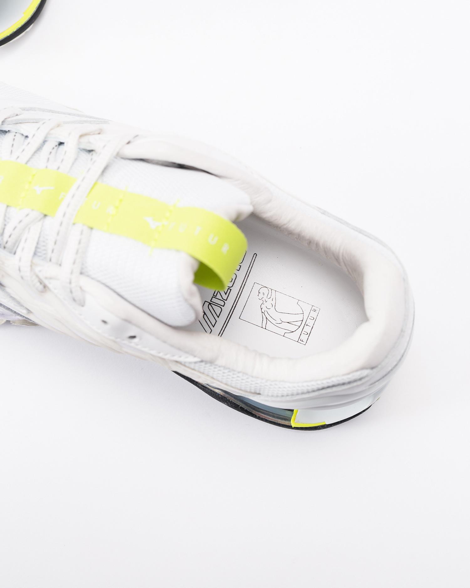 Futur X Mizuno Wave Prophecy White/White/Safety Yellow