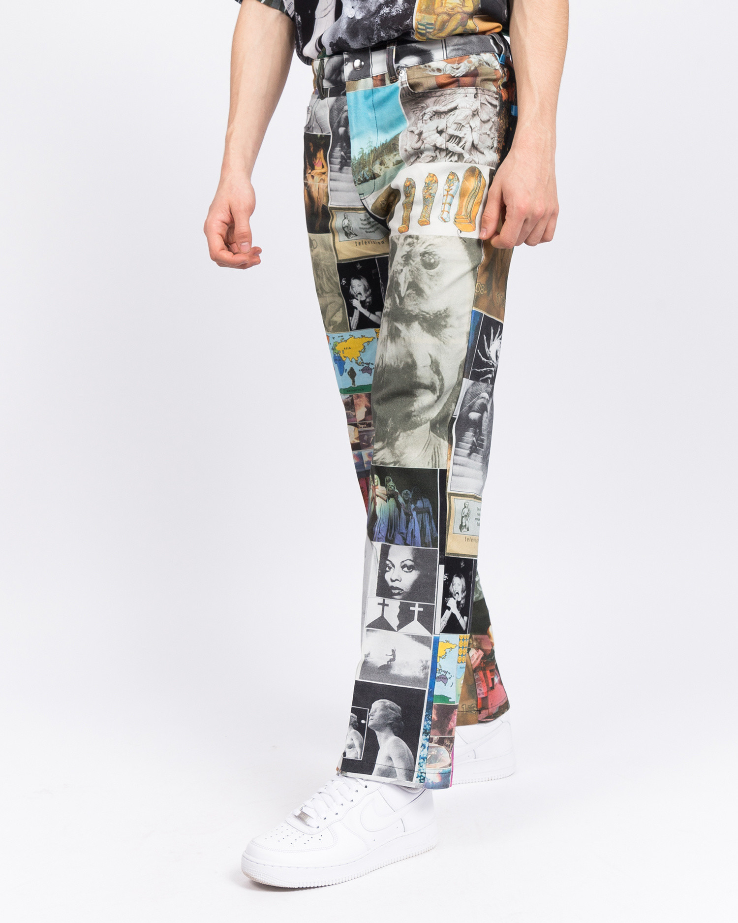 Fucking Awesome Chino Pant Collage Art